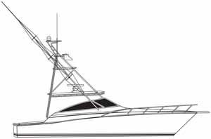 A 45 Viking open tower linedrawing gift idea personalized sunshirts your boat photograph performance apparel custom picture giftideas dye sublimation linedrawings boater boat lineart specifications boatiquegraphics fishing center console yachts cruisers sportfishing walkaround sailboat sailing yacht designmyshirt boatique graphics designmyshirt design tshirts shirts clipart clip art boat gift sketch vectors beach team wear cancer skin upf sunmoisture wicking longsleeve lightweight coolingtech tournament raceteam crew sunshirt